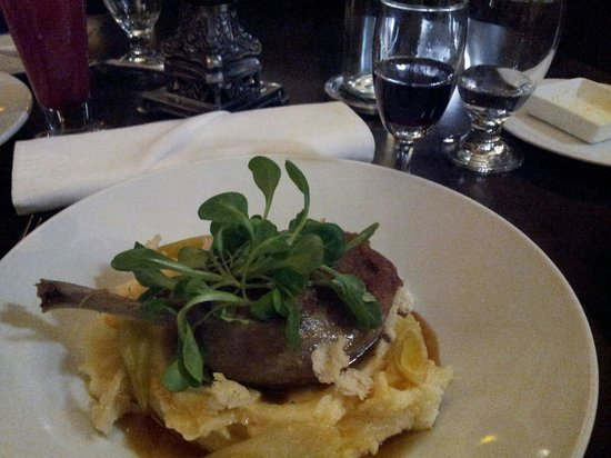 The Parlour Inn: the duck was very nice... even more so with a nice glass of port  :-)