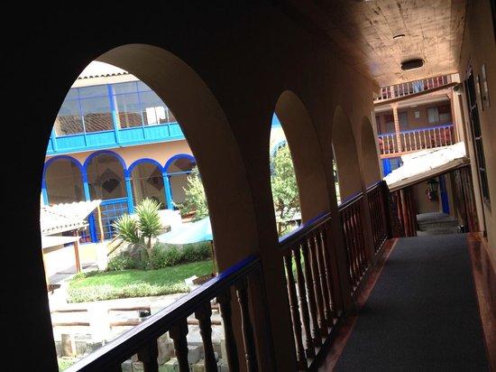 Casa Andina Standard Cusco San Blas: Courtyard