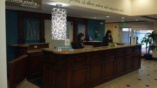 Hilton Garden Inn Ft. Lauderdale SW/Miramar : front desk