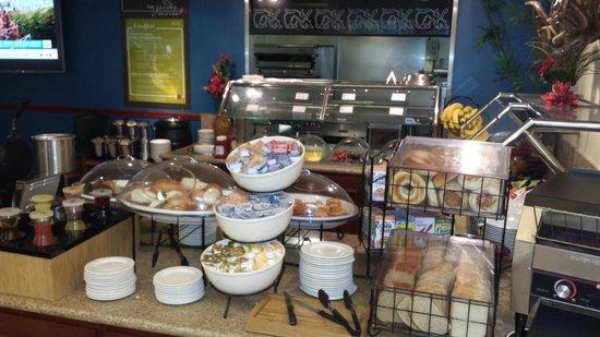 Hilton Garden Inn Ft. Lauderdale SW/Miramar: breakfast area