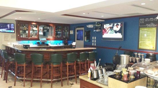 Hilton Garden Inn Ft. Lauderdale SW/Miramar: lobby bar