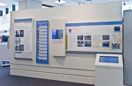 Reserve Bank Museum: Bank people