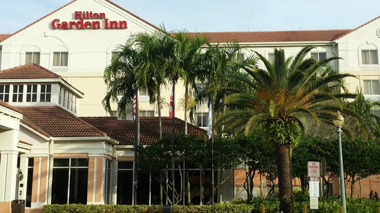 Hilton Garden Inn Ft. Lauderdale SW/Miramar: front hotel