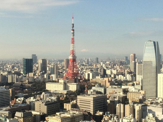 Park Hotel Tokyo: Morning view from the room (upgrade)