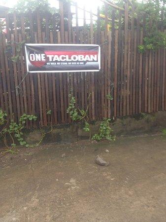GV Hotel, Tacloban City: one tacloban sign nearby