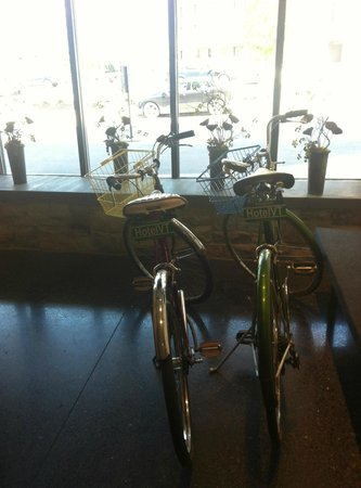 Hotel Vermont: Bikes for touring