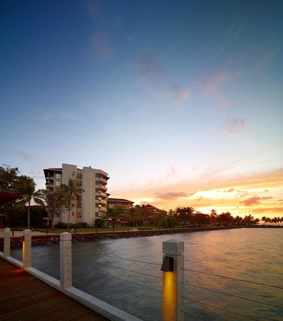 Star Marina Watersports: Sunset at STAR Marina