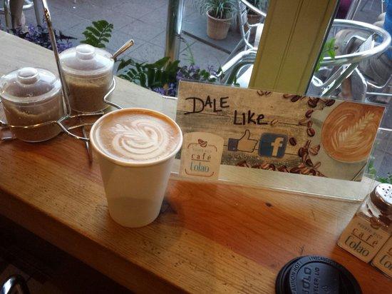 Cafe Cola'o: Tremendo lugar
