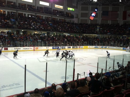The Grove Hotel: Idaho Steelheads hockey