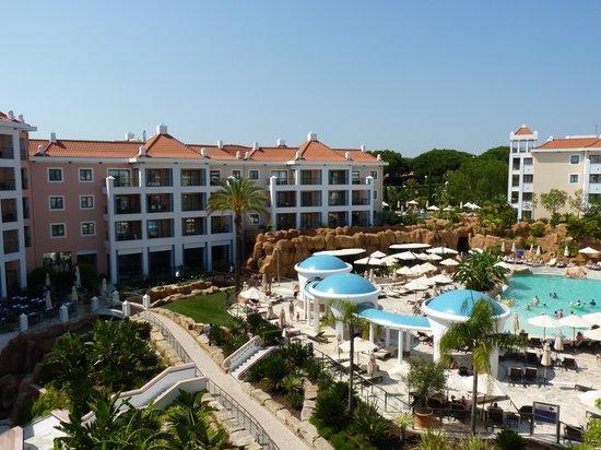 Hilton Vilamoura As Cascatas Golf Resort & Spa: View from balcony