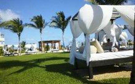 Secrets Maroma Beach Riviera Cancun : Beach beds