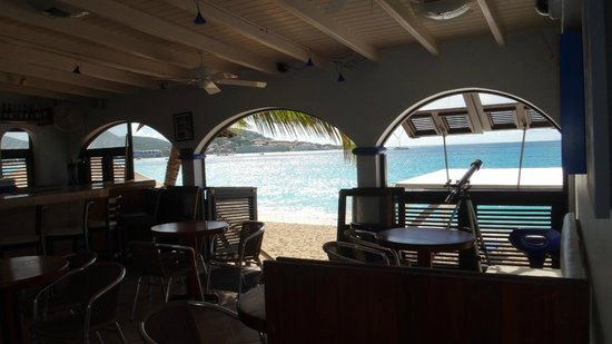 Mary's Boon Beach Resort and Spa: the restaurant