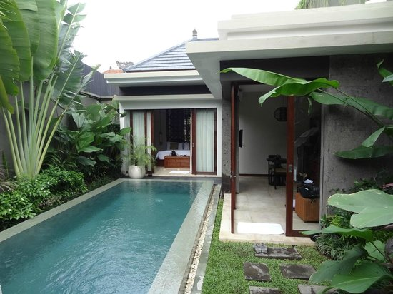 Seminyak Icon : The view of 1 bedroom villa with private pool