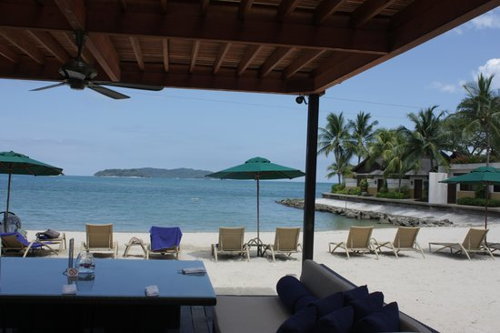 Shangri-La's Tanjung Aru Resort & Spa: The beach