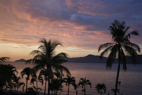 Shangri-La's Tanjung Aru Resort & Spa : view from our room