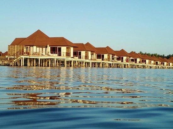 Robinson Club Maldives : コテージ