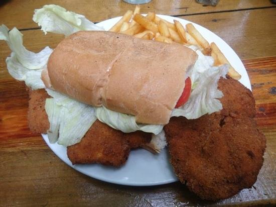 Che Pancho : Chicken Schnitzel Sanwich