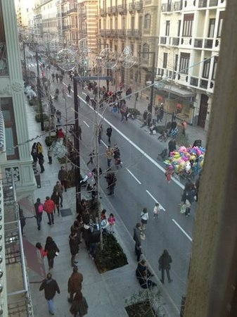 Suites Gran Via 44: 部屋からの眺め