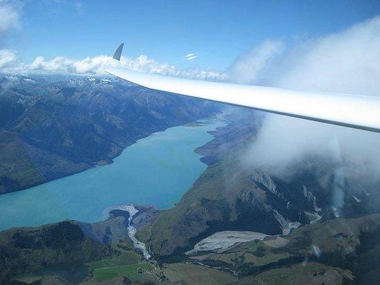 Glide Omarama scenery