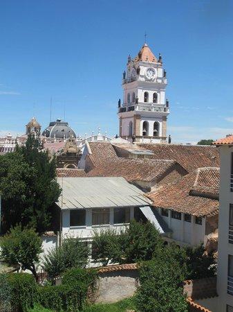 Parador Santa Maria la Real: Vista desde la Habitación