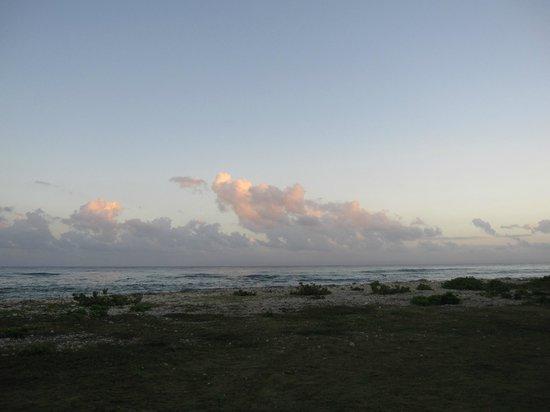 Half Moon : Sunrise from the villa