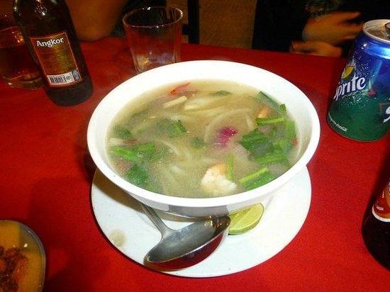 Mr Grill Restaurant: スープ