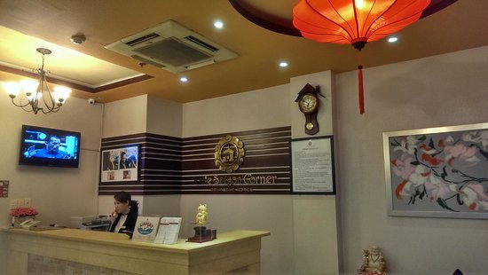 Little Saigon Corner Boutique Hotel : Our Cosy reception Area