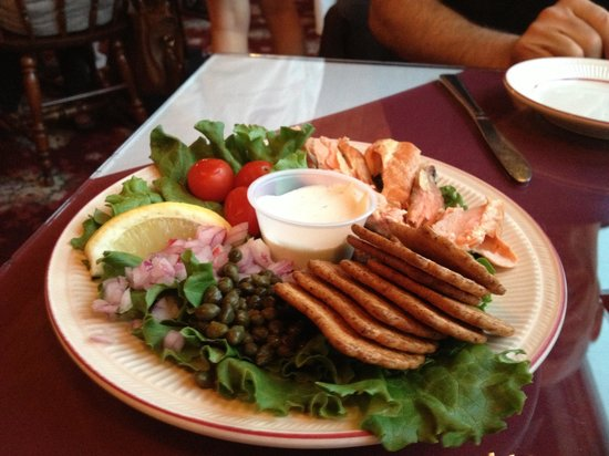 Chart Room: Smoked salmon appetizer - the best!