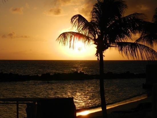 Sunscape Curacao Resort Spa & Casino - Curacao: sunset at Sunscape