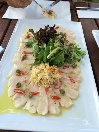 Get Reel Charters: Kingi Entree Care of THE WHARF restaurant...