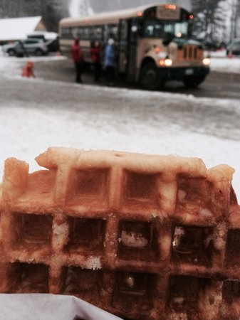 Mount Sunapee State Park and Ski Area: WaffleCabin! To die for!!!!