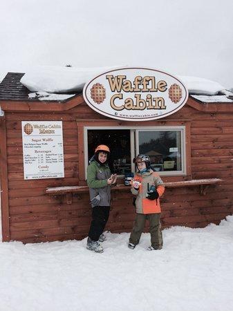 Mount Sunapee State Park and Ski Area: Waffle Cabin