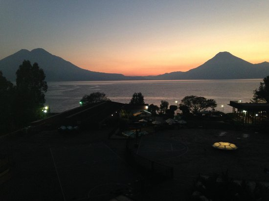 Porta Hotel Del Lago: Sunset from my Room -