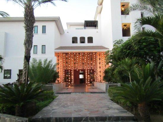 Cabo Azul Resort: Exterior of Javier's restaurant-only open for dinner $$$$ but good