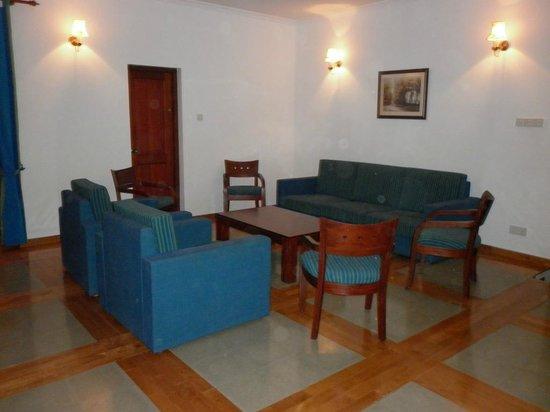 The Kandyan Villa: The family room