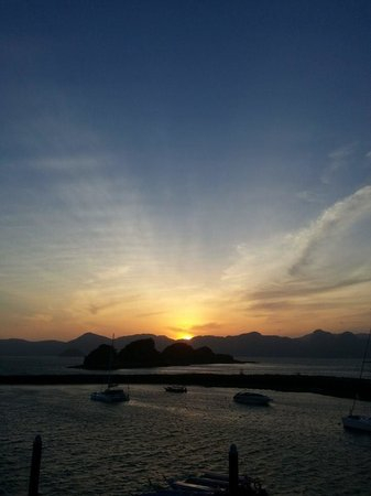 Resorts World Langkawi: sunrise
