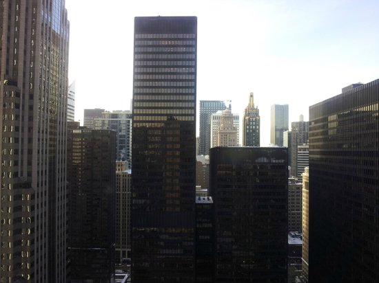 Fairmont Chicago Millennium Park : View looking straight out of the window