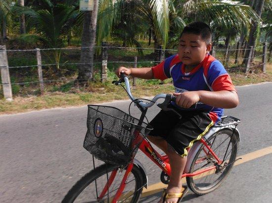 Amazing Bike Tours : Racing the locals