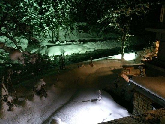 Rankeisou: 美しい雪景色が、窓から眺められます。