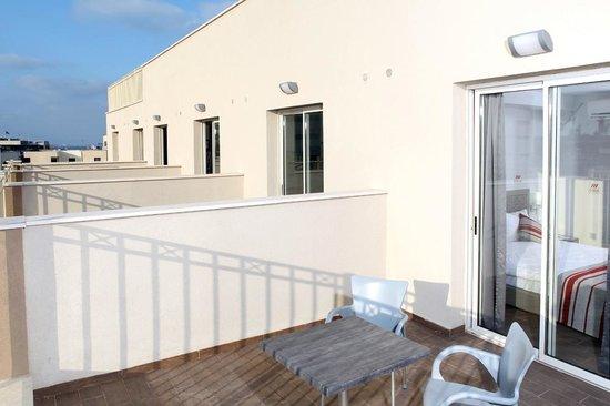 Maris Hotel Haifa: balcon