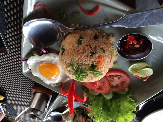 The Square 24: Fried rice with vegetables