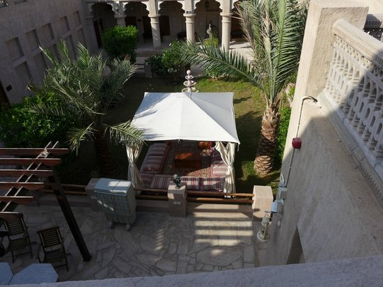 Barjeel Heritage Guest House : The Courtyard
