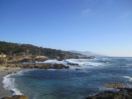 17-Mile Drive: view from the cypress tree lookout
