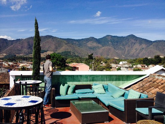 Hotel Meson de Maria: View from the rooftop 2