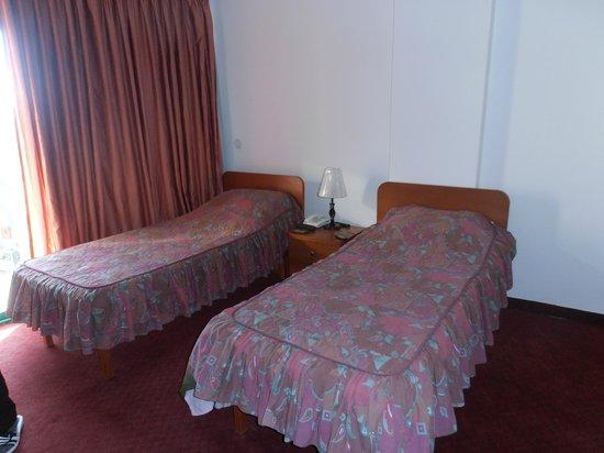 Capitol Hotel: кровати