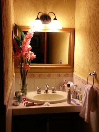 La Villa de Soledad B&B: decorado con flores.. lindo detalle!