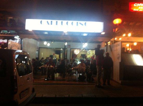 Cappuccino Grand Cafe: Cappuccino gran cafe playa blanca lanzarote
