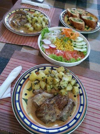 La Villa de Soledad B&B: Almuerzo... espectacular!!