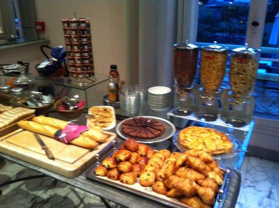 Hotel Villa Victoria: Il buffet
