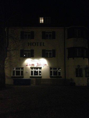 Hotel Gautinger Hof: Hotel at night